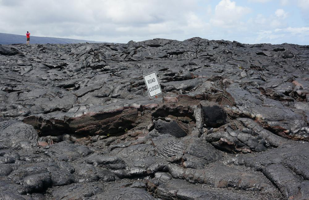 Photo in Landscape #lava #hawaii #the big island