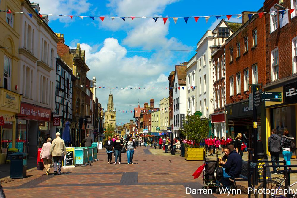 Photo in Street Photography #gloucester #street #shops #sunny