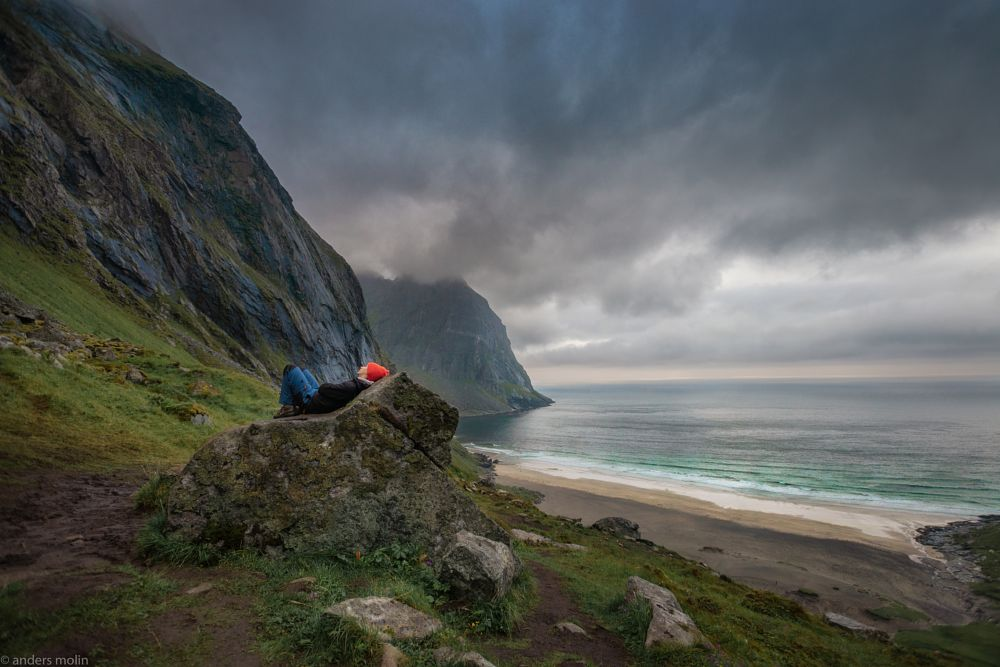 Photo in Landscape #norweigian #arctic_beach #arctic #summernight #fairytale