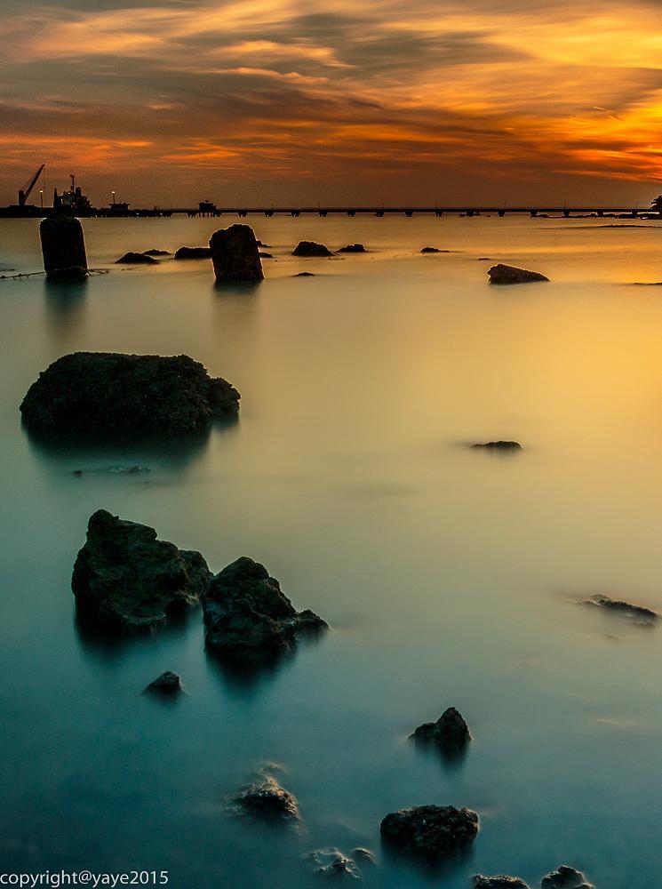 Photo in Nature #nature #sunset #landscape #seascape #melaka #malaysia