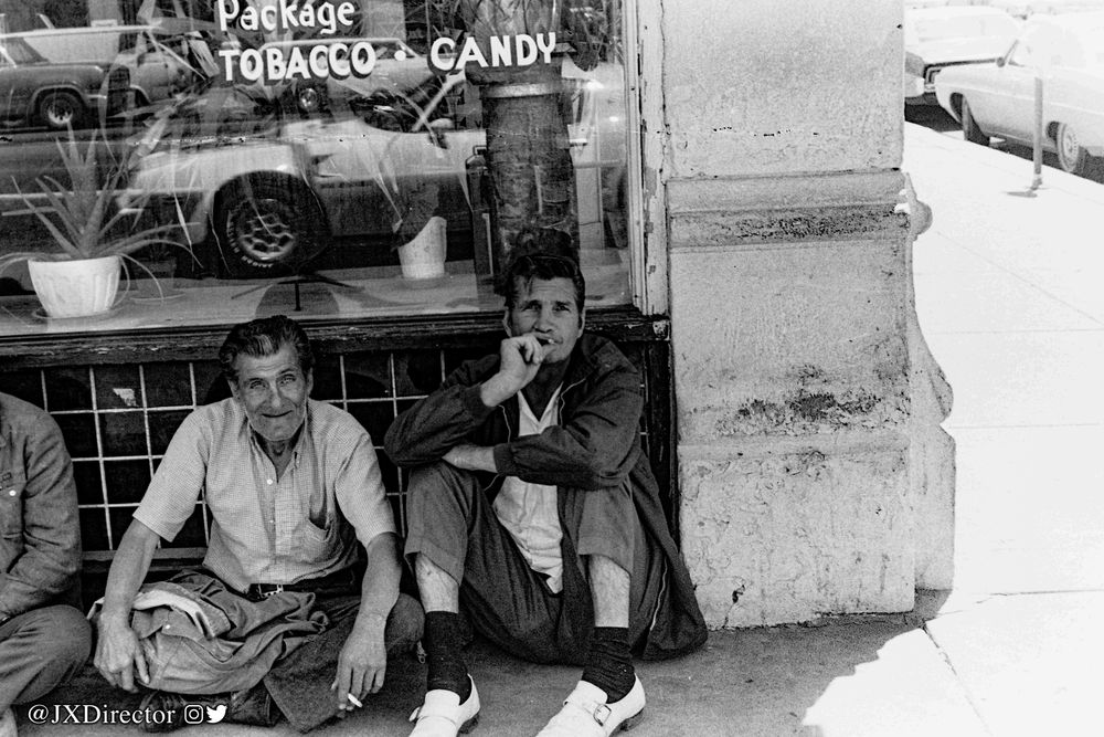 Photo in Street Photography #streetphotography #35mm #black&white #wichita #kansas #1970's