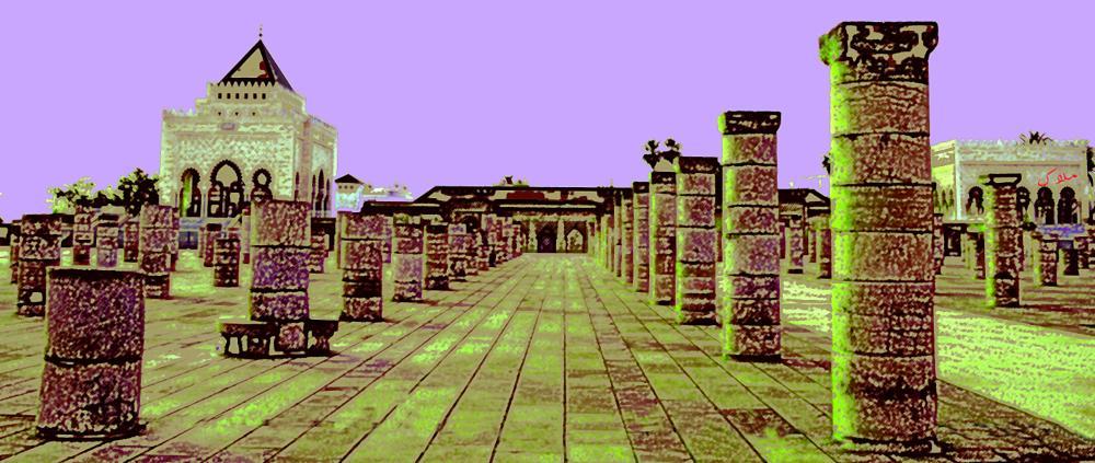 Photo in Architecture #morocco #rabat #colorpencil