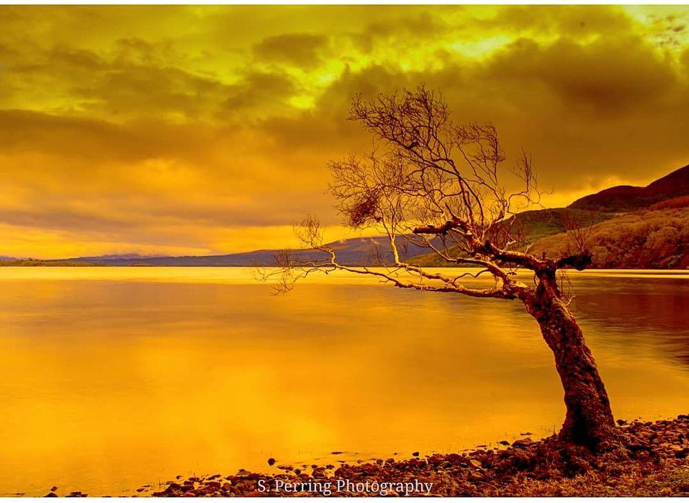 Photo in Landscape #landscape #lake #sky