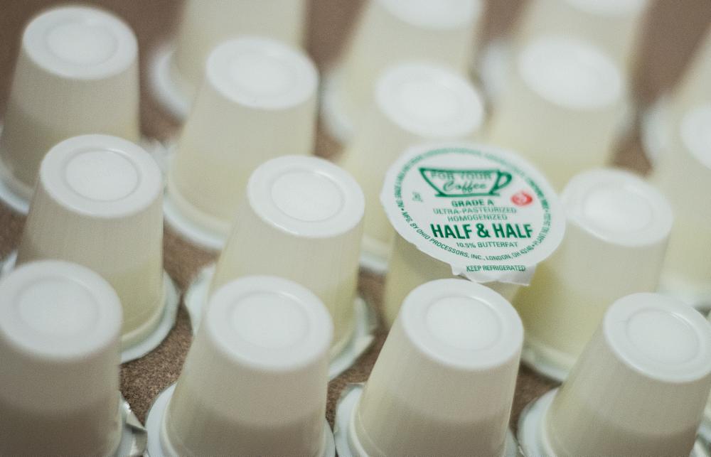 Photo in Random #creamer #crema #cafe #coffee #table #milk
