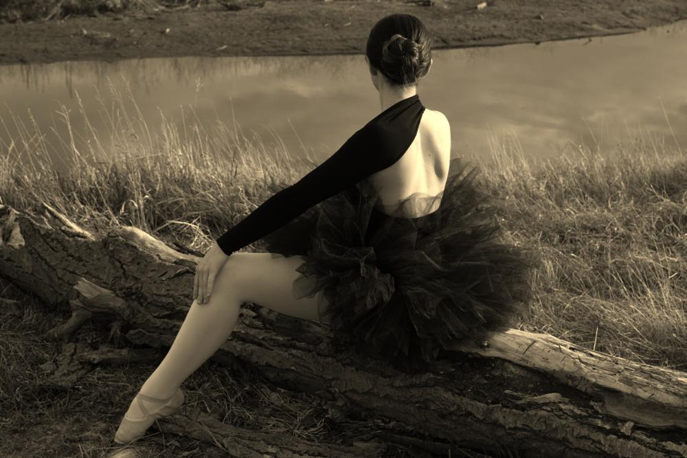 Photo in Black and White #ballerina blackandwhite wate