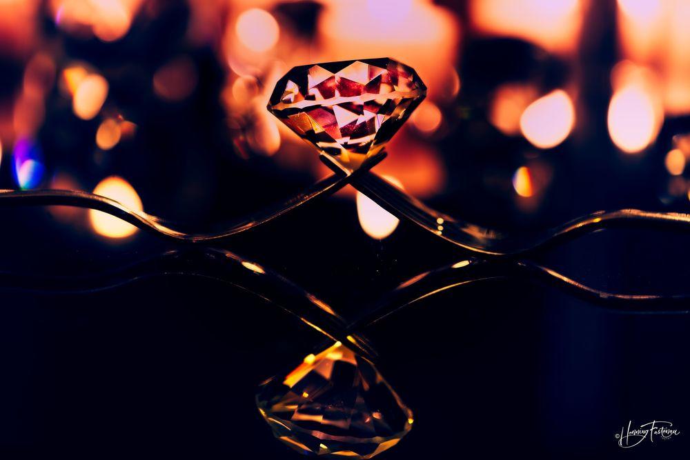Photo in Still Life #diamond #diamanten #diamonds #forks #bokeh