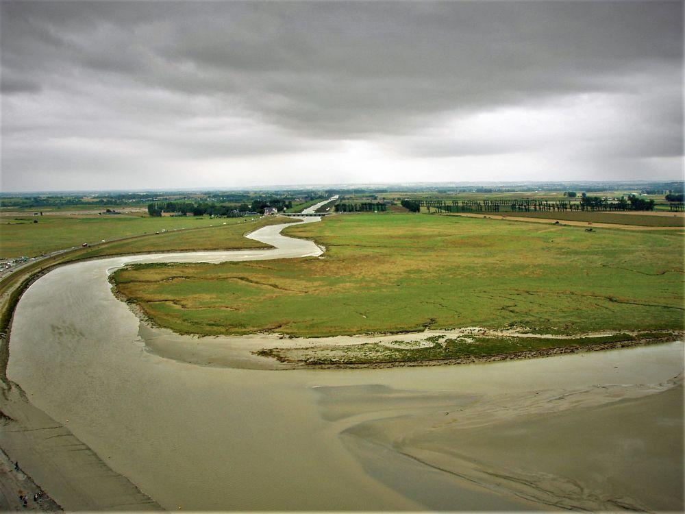 Photo in Landscape #river #salt marsh #sky