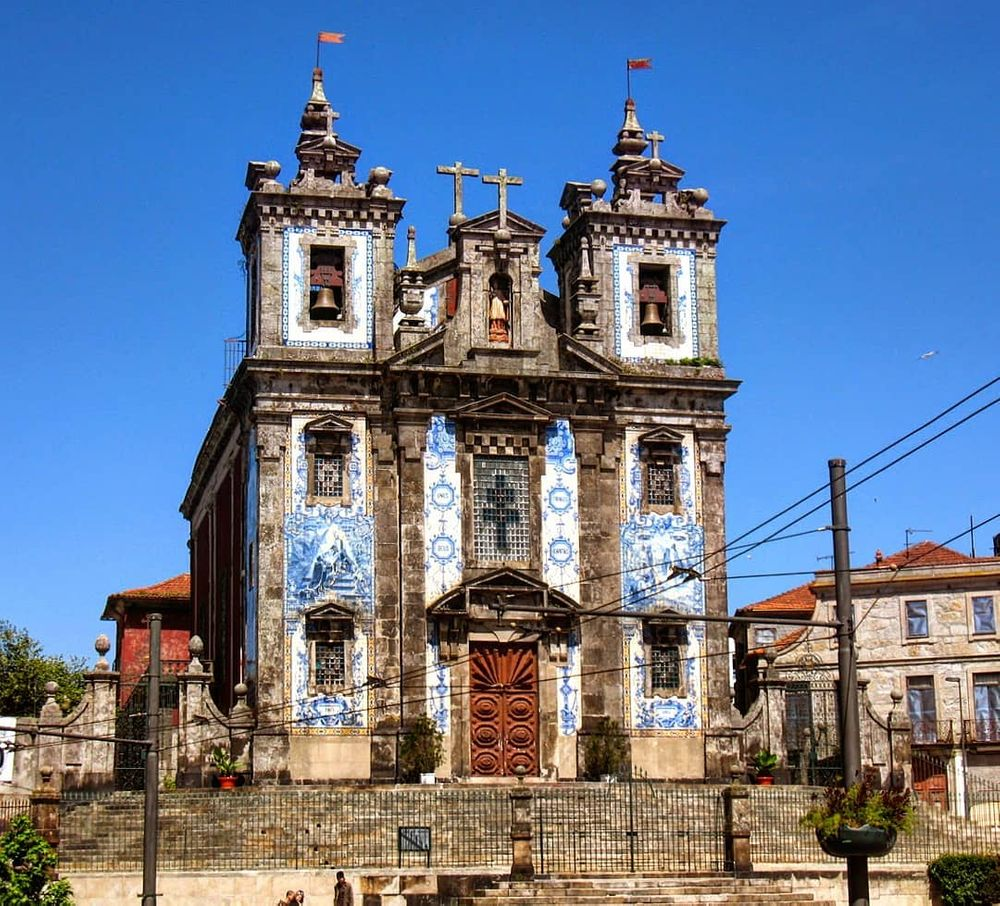 Photo in Street Photography #porto #portugal #church #azulejo #worldheritage #unesco #christian #monument #city