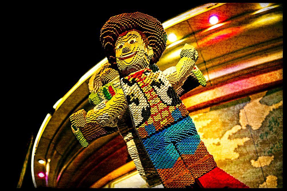 Photo in Random #disney #woody #lego #toy #store