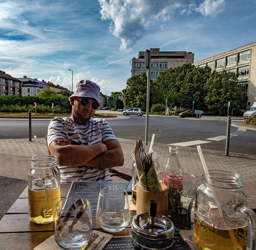 Photo in Portrait #portrait #diner #sunglasses