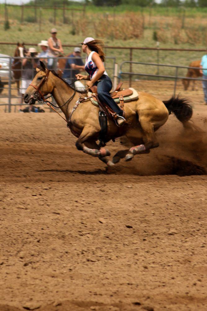 Photo in Sports #horses #racing #barrel racing #arizona #women