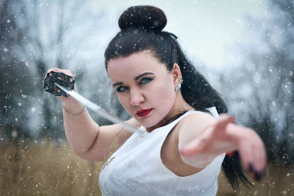 Photo in Random #портретженский #fineart #artphoto #portrait #fimaleportrait #самурай #воин