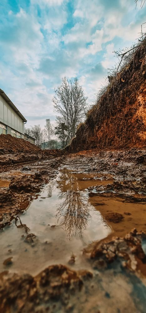 Photo in Nature #baustelle #construction #neubau #photography