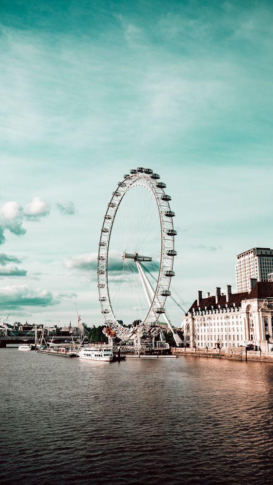Photo in Cityscape #london #millennium #river #city #england