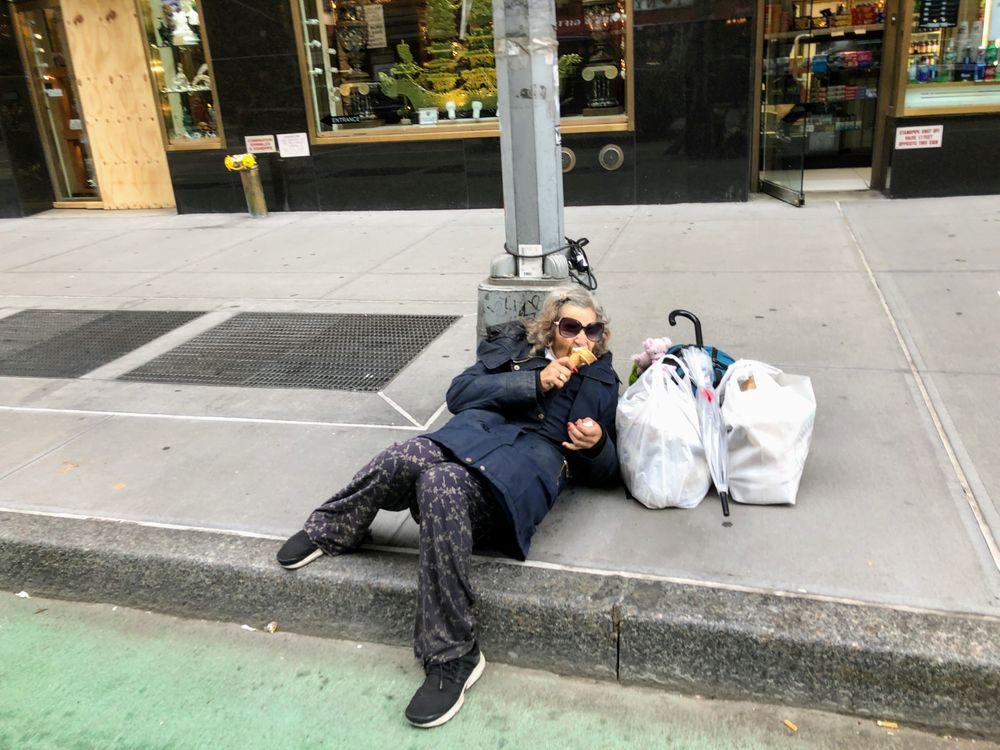 Photo in Street Photography #age #grandma #shopping #ice cream #street-wise