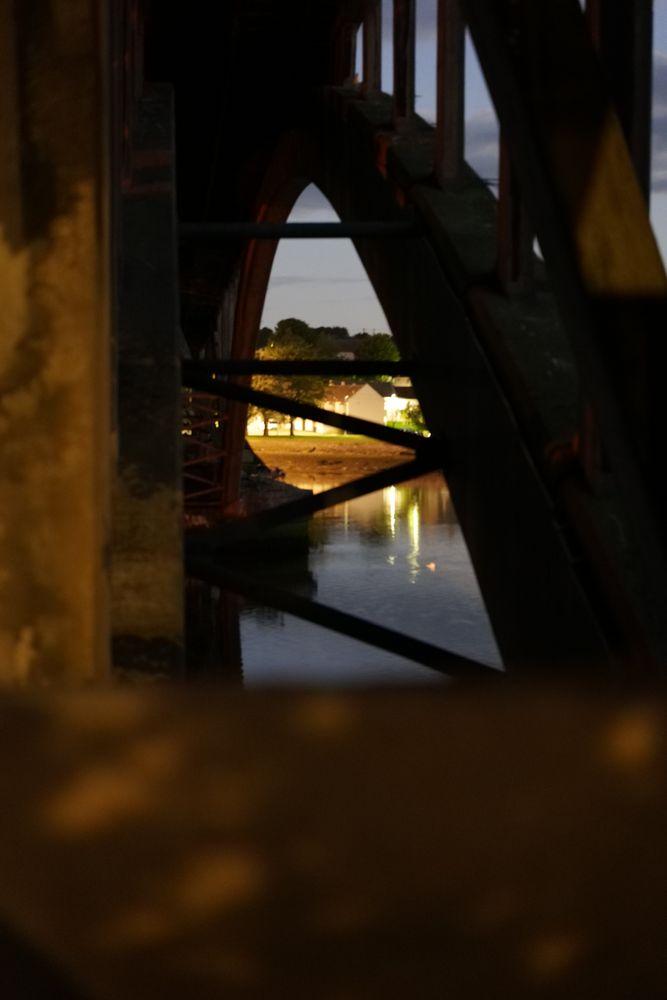 Photo in Architecture #night #bridge