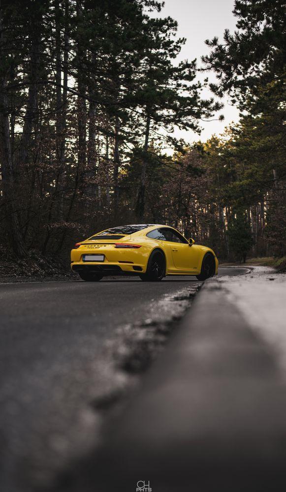 Photo in Random #porsche #porsche 911 #porsche 911 carrera gts #carrera gts #porsche carrera #automotive #forest