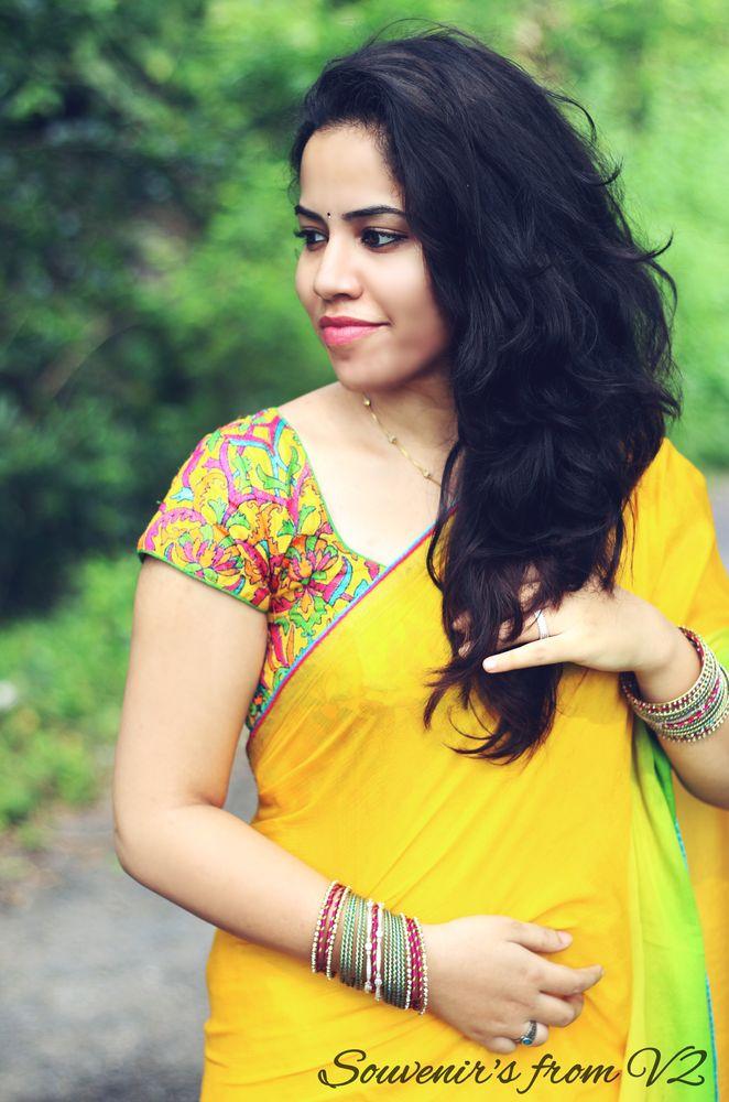 Photo in Portrait #indian #india #potrait #yellow #love #female #women