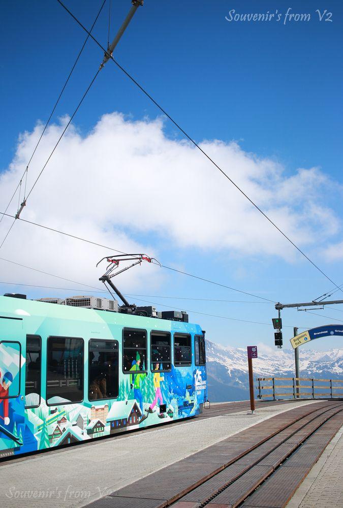 Photo in Vehicle #train #swiss #jungfrau #europe