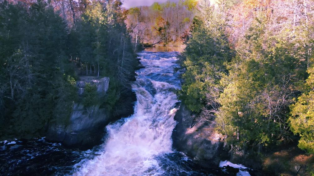 Photo in Nature #drone #dji #done photography #nature #waterfall