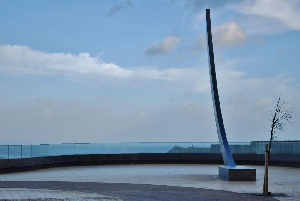 Photo in Random #sky;blu #vent #belgium #lapanne #mer #nord #du