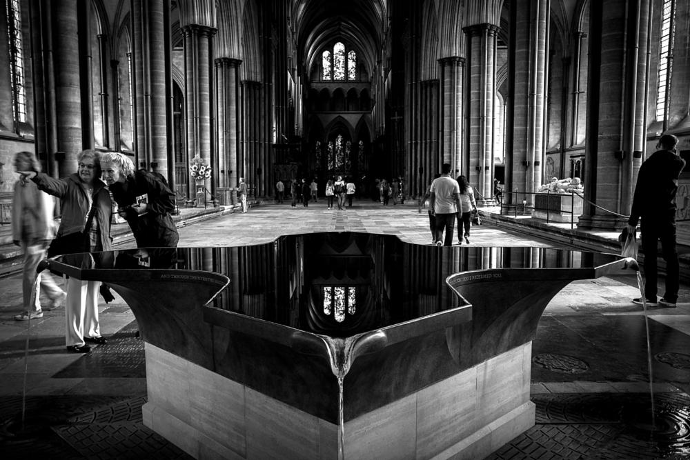 Photo in Black and White #salisbury cathedral