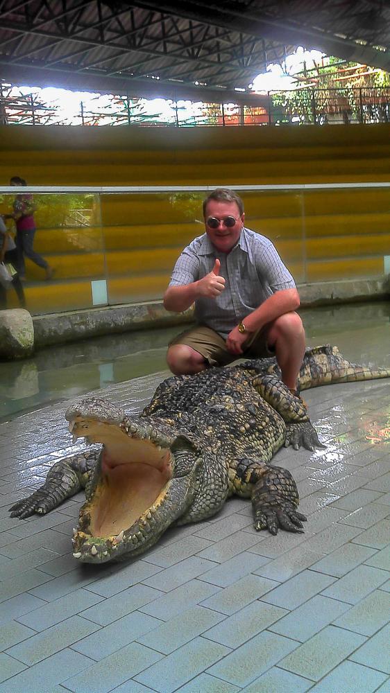 Photo in Animal #crocodile #travel #siracha tiger zoo #thailand