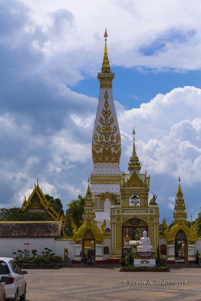 Photo in Travel #travel #buddhism #wat phra that phanom #ban that phanom #thailand #stupa