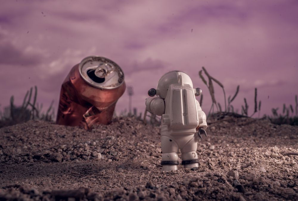 Photo in Random #artphoto #art photography #toy #toys #artphotpgraphy #space #cosmos