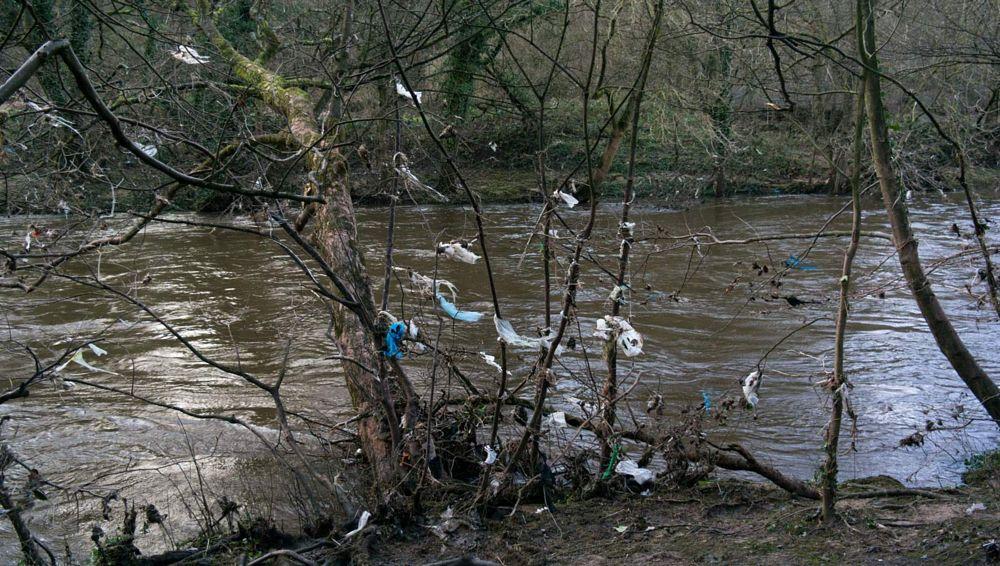 Photo in Random #flood #environment #litter #debris #river