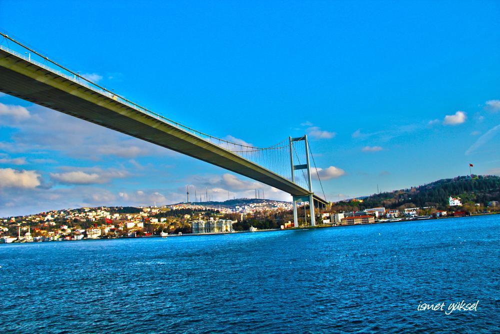 Photo in Sea and Sand #bosphorus bridge