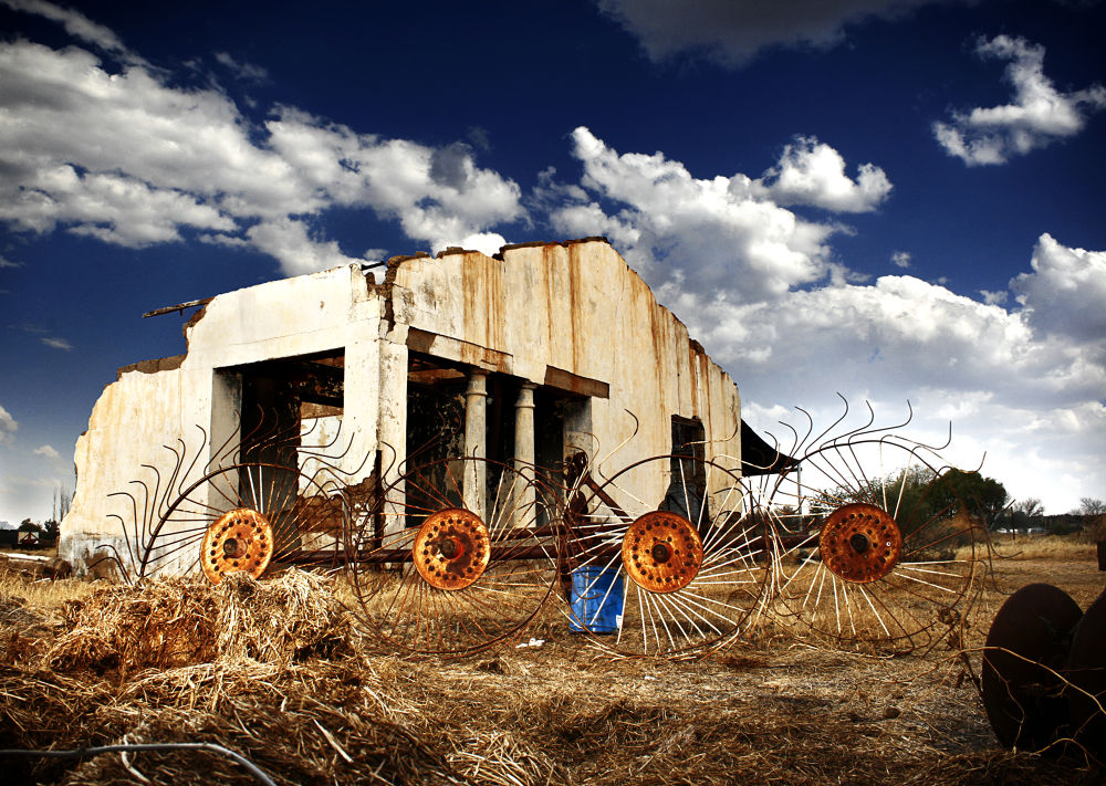 Photo in Rural #francois heydenrych photograph #rural #2013 #house #degration #farm