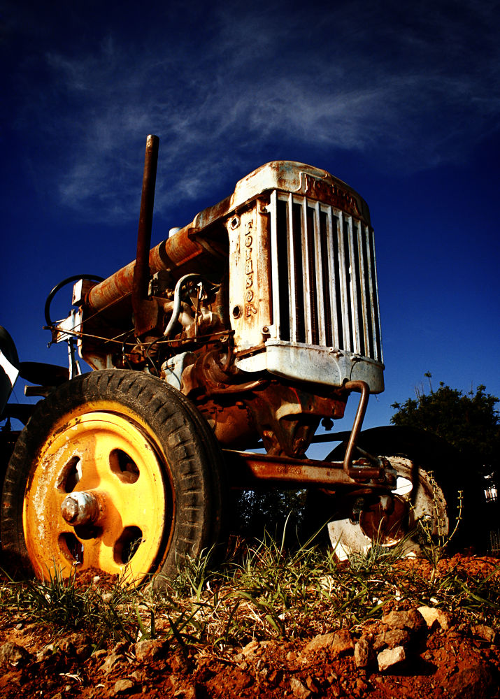 Photo in Rural #francois heydenrych photograph #tractor #rural #2013 #object