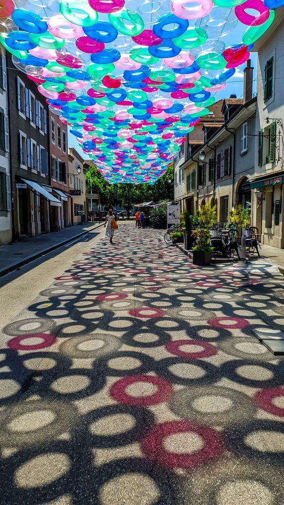 Photo in Street Photography #street; switzerland;  buoys; s
