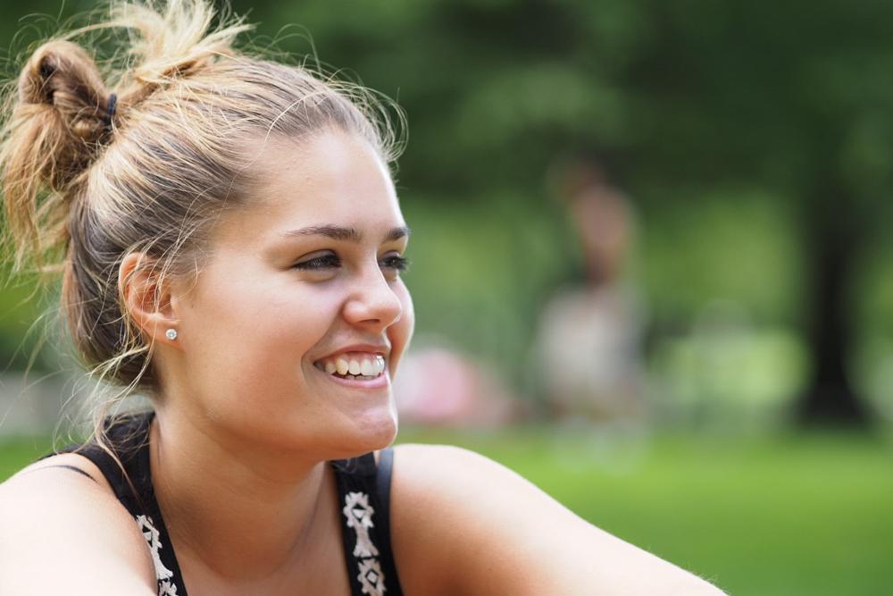 Photo in Portrait #smile #teen