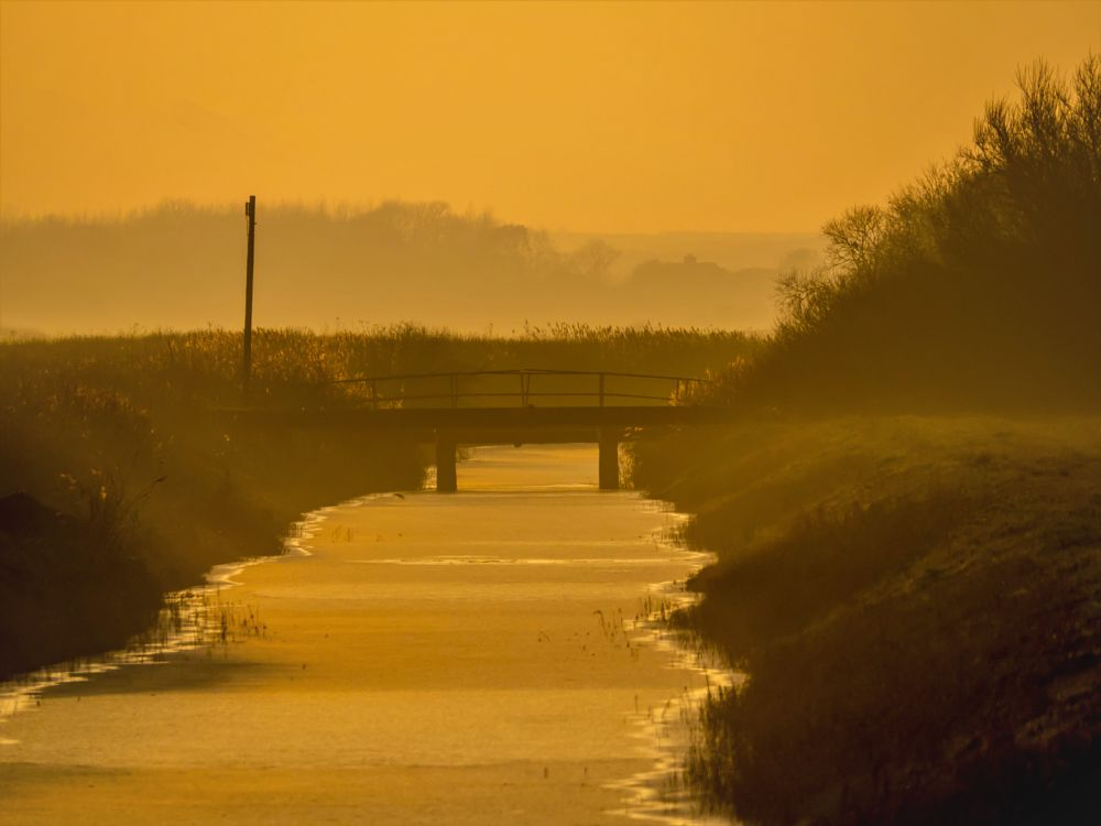 Photo in Nature #sunset #sun #set #mablethorpe #mablethorpe drain