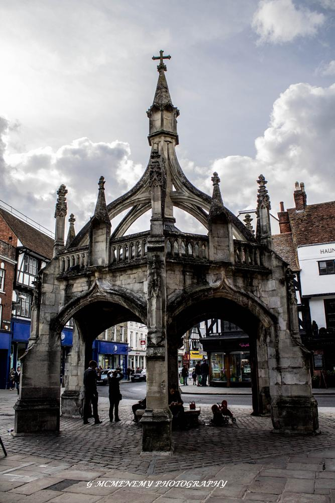 Photo in Architecture #poultry cross #salisbury #wilts