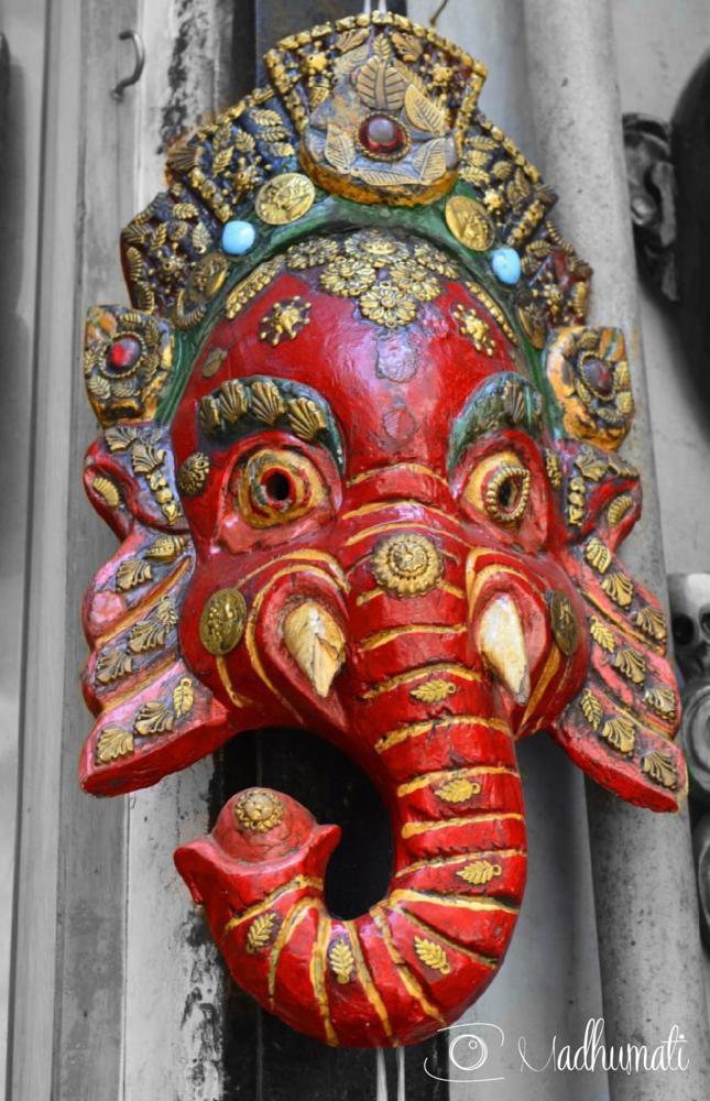 Photo in Random #ganesha #ganesh #elephant #elefante #new delhi #pahar ganj