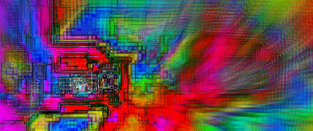 Photo in Fine Art #abstract #fine art #computers.