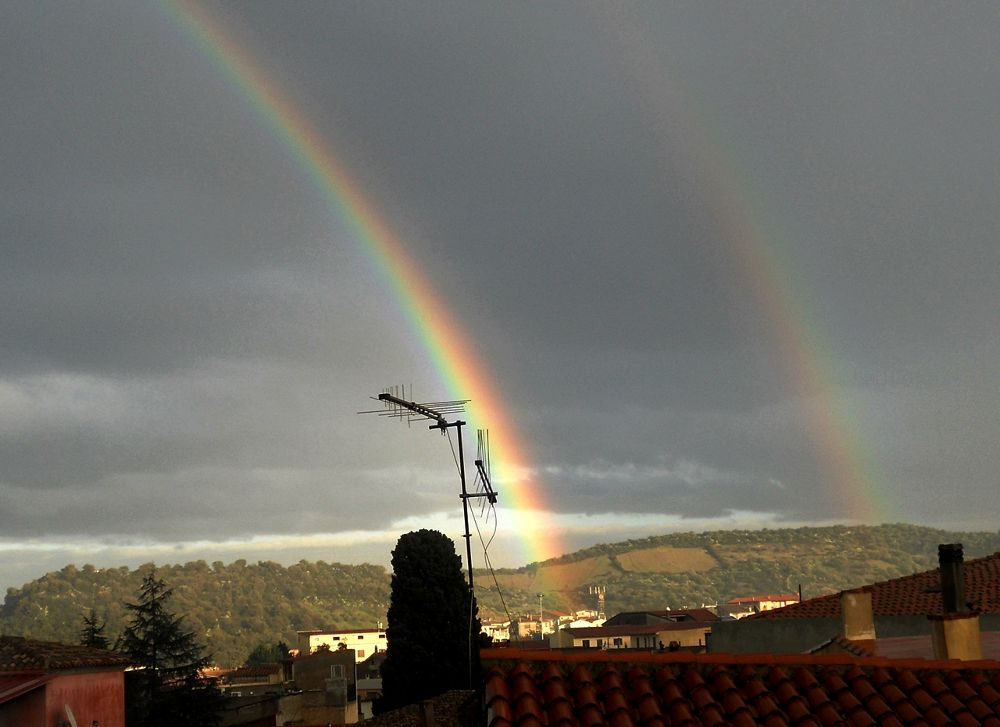 Photo in Landscape #landscape #nature #rainbow #weather