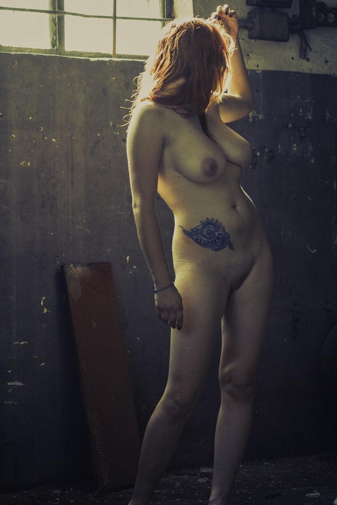 Photo in Nude #girl #nu #nude #tattoo #window #model