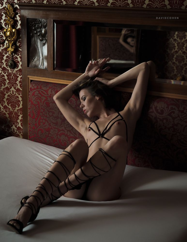Photo in Nude with model Denisa Strakova #model #denisa #denisastrakova #denisa strakova #czechmodel #czech model #nude #topless #implied #impliednude #implied nude #lingerie #panties #indoor #boudoir