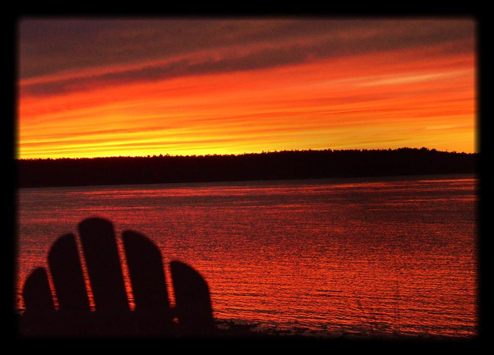 Photo in Nature #sunset #capecod #buzzardsbay