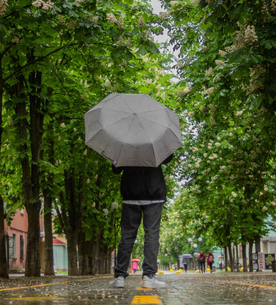Photo in People with model Dima Marinec #rain #day #mn #canon #lens