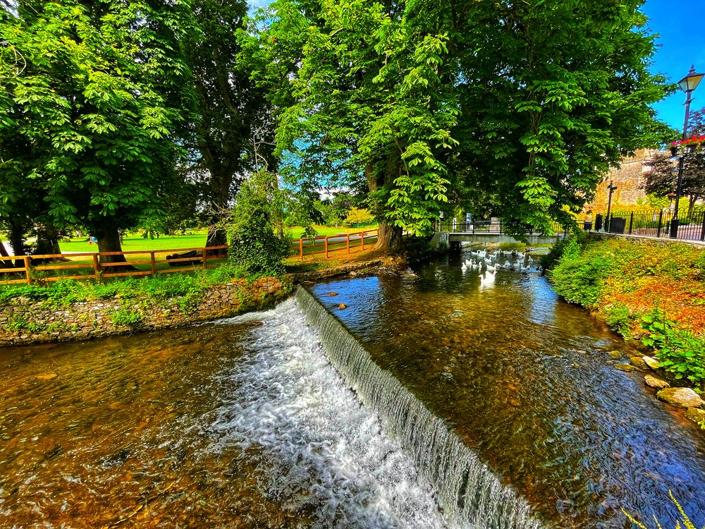 Photo in Travel #woods #green #river #travel #water #waterfall #park #ireland