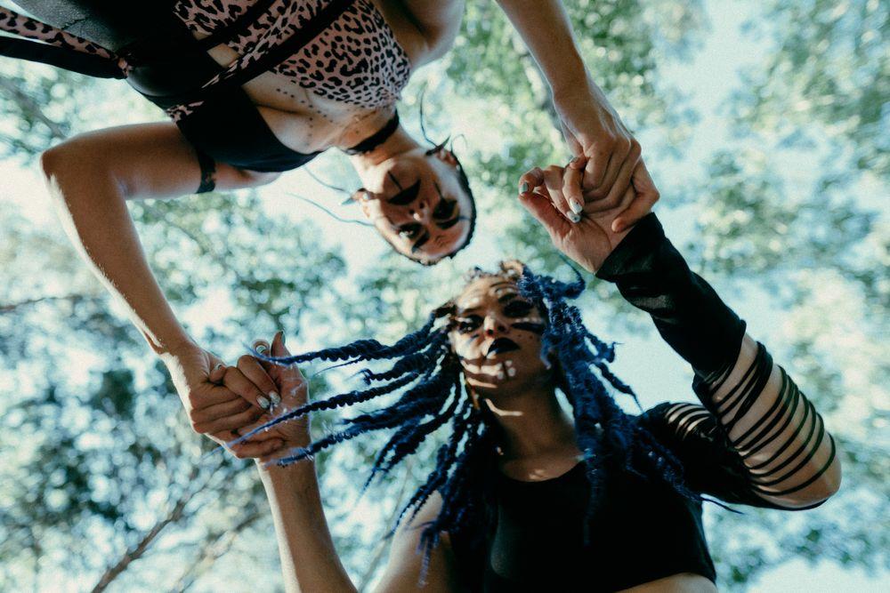 Photo in Random #shamans #forest #braids