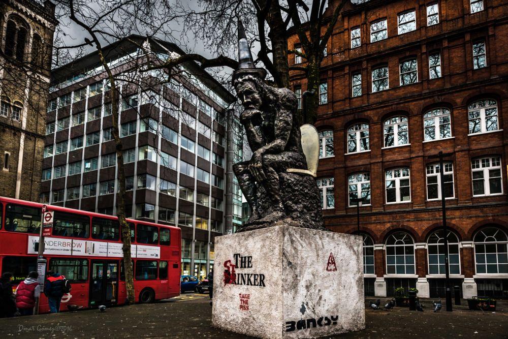Photo in Fine Art #art #street photagraphy #buidings #statute