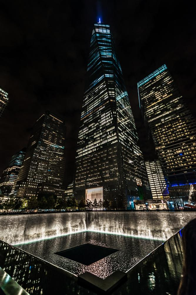 Photo in Cityscape #9/11 memorial museum #the freedom tower #nyc #night phothography
