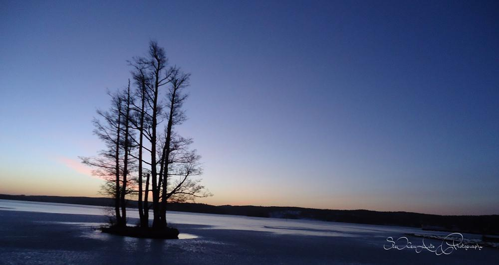 Photo in Nature #panorama #ice #lake #winter #mariefred #sweden