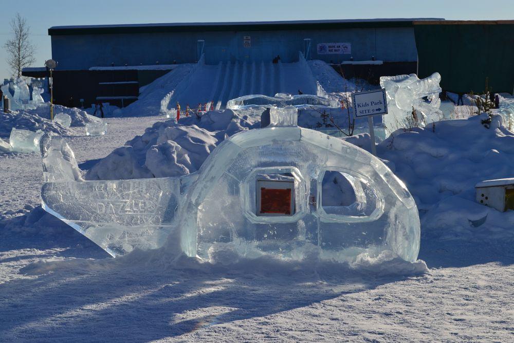 Photo in Random #ice alaska #ice sculpting #winter #inclement weather